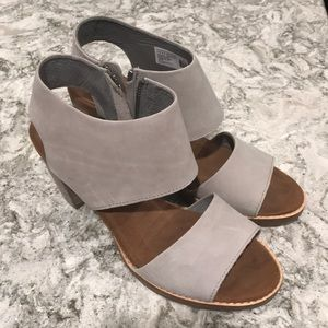 TOMS Majorca Cutout (Drizzle Grey Leather)
